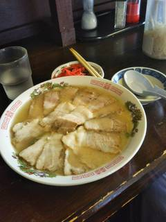チャーシュー麺 ¥600