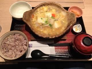 豆腐と鶏肉のトロトロ煮