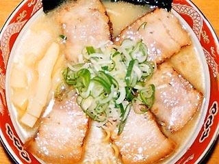 豚バラチャーシューメン(しお)