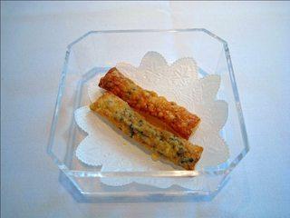 アンチョビとパルメザンチーズのパイ