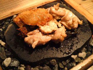 新得地鶏の炭火焼