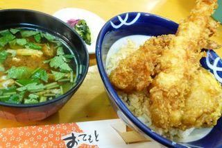 関東風海老天丼