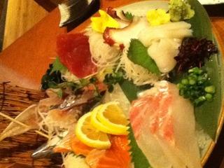 鮮魚豪華6種盛り