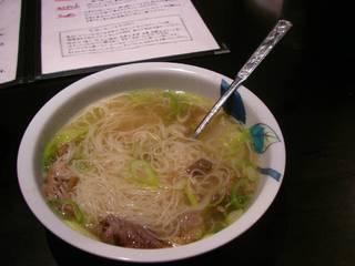カルビ素麺