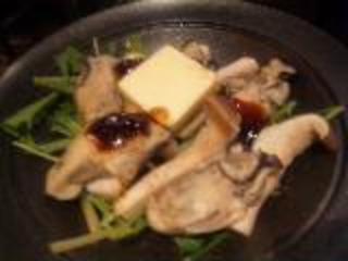 牡蠣とエリンギの陶板焼き