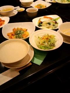 銀杏入り色々野菜の炒めランチ