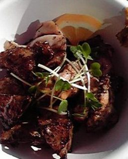 福島県産地鶏と門真れんこんの炭火焼