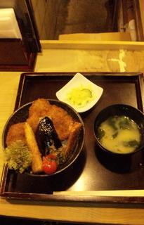 野菜カツ丼
