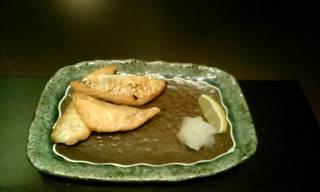 鮭ハラスの炙り焼き