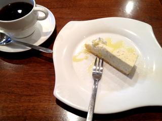 柚子レアチーズケーキ