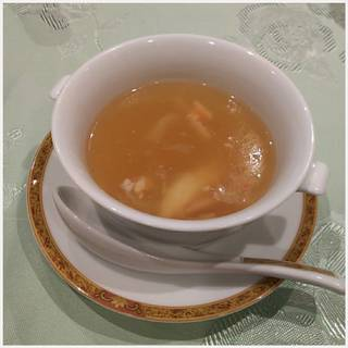 ふかのひれと蟹のスープ