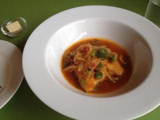 ミナミアマダイのトマトソース煮