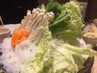 秋野菜の盛り合わせ