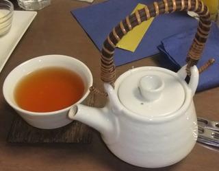 ホットほうじ茶