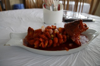 白身魚の甘辛煮