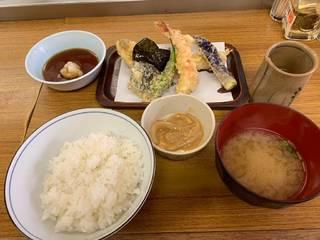 天ぷらごはん しおから