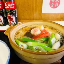 裏メニュー  土鍋温麺
