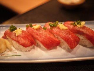 炙り和牛たん寿司
