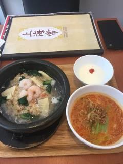 土鍋あんかけ炒飯とミニ麺セット