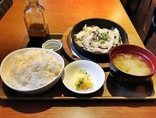 ローストポーク定食