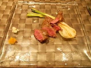 ジャージー牛のサーロインステーキ