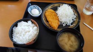 ササミフライ定食