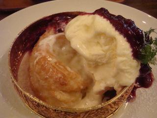 アップルパイ アイスクリームのせ