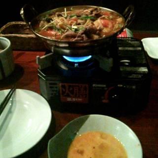 力石のトマト肉鍋