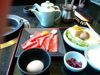 牛ロースセット(すき焼き)