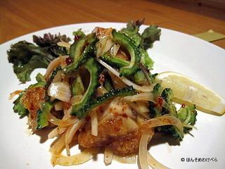 揚げ鶏と野菜の甘酢あえ
