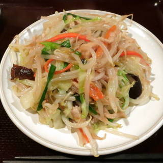 肉と野菜炒め定食