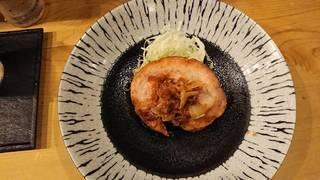 まん丸な豚の生姜焼き
