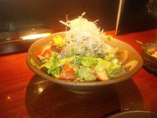 ラム肉のサラダ