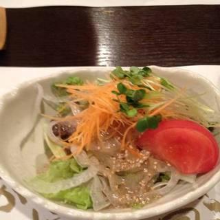 肉専科コース サラダ
