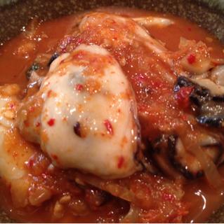牡蠣キムチ