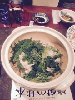豚と野菜の焼酎蒸し