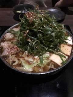 九条ねぎモツ鍋