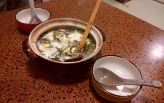 布海苔の雑炊