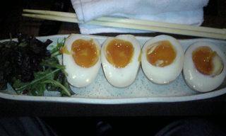 赤城の地卵・半熟醤油煮
