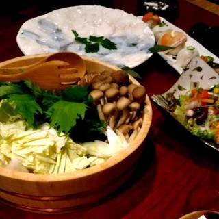海鮮&有機野菜のしゃぶしゃぶ