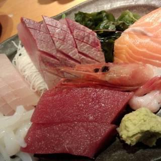 漁師盛りお刺身定食