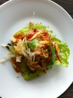 季節の野菜を使ったサラダ風前菜
