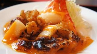 海鮮ウニソース焼き