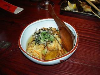 海老と山芋のふわふわ揚げ