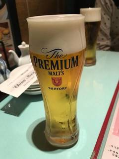 プレミアムモルツ生ビール