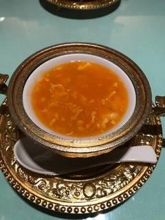 フカヒレと蟹肉入りとろみスープ