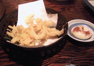 スルメの天ぷら