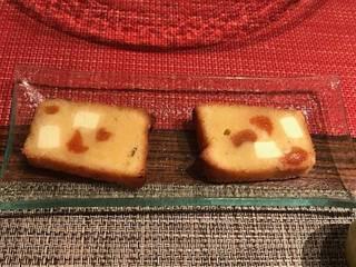 ドライフルーツとクリームチーズのパウンドケーキ