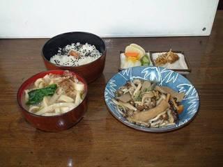 きのこと山菜炒めセット