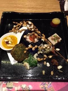 前菜(秋野菜)